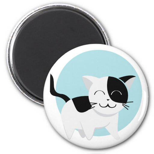 Cute Kitten Refrigerator Magnet