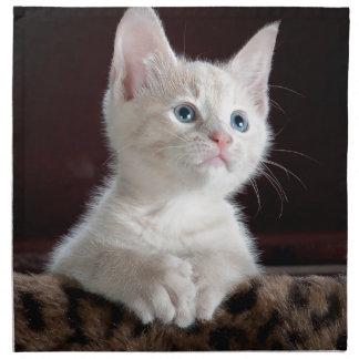 Cute Kitten Napkin