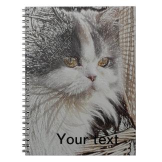 Cute kitten  Notebook