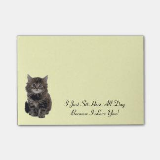 Cute Kitten Post-It-Notes Post-it Notes