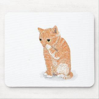 Cute Kitten Products Mouse Pad