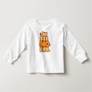 """Cute Kitten """"See No Evil"""" T-shirt"""