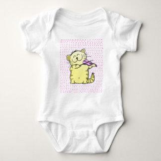 Cute-Kitten-violinist Baby Bodysuit