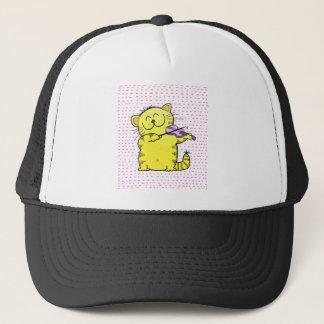 Cute-Kitten-violinist Trucker Hat