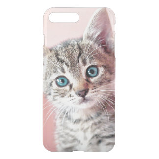Cute kitten with blue eyes. iPhone 8 plus/7 plus case