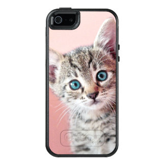 Cute kitten with blue eyes. OtterBox iPhone 5/5s/SE case