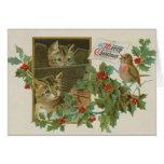 Cute Kittens Christmas Card