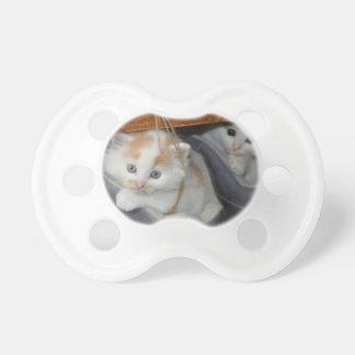 Cute Kittens in boots Pacifier