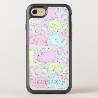 Cute Kittens n Cupcakes iPhone 7 OtterBox Case