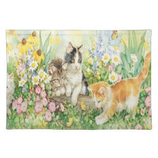 Cute Kittens Placemat