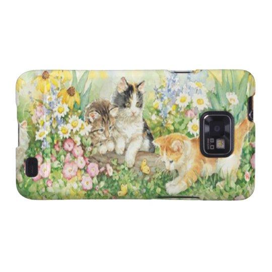 Cute Kittens Samsung Galaxy Case