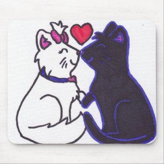 cute kittens valentine s day kittens mousepads