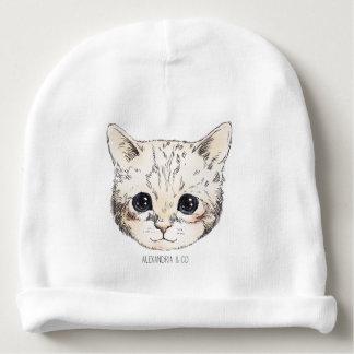 Cute kitty baby beanie