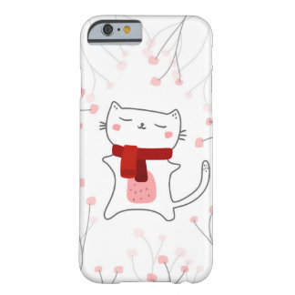 Cute kitty barely there iPhone 6 case