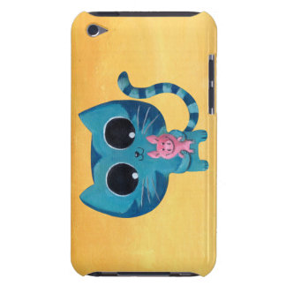 Cute Kitty Cat and Pig Barely There iPod Covers