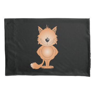 Cute Kitty Cat Cartoon Pillowcase