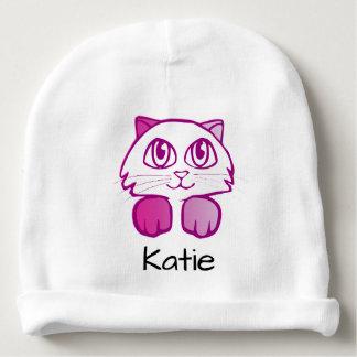 Cute kitty cat customizable name beanie baby beanie