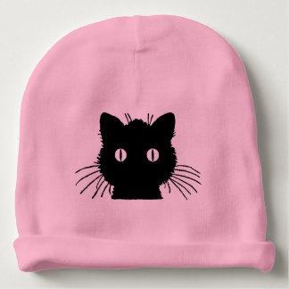 Cute Kitty Cat Head Baby Beanie