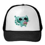 Cute Kitty Cat with Kawaii Cupcake Cap