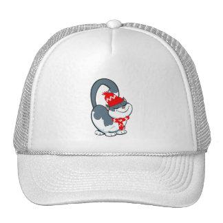 Cute Kitty . Christmas Gift  Hat