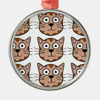 Cute Kitty Christmas Ornament