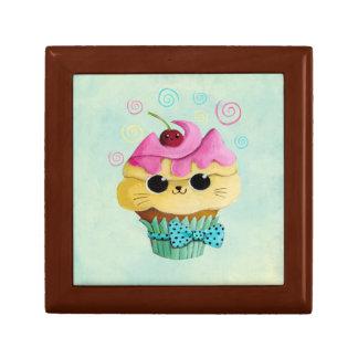 Cute Kitty Cupcake Gift Box