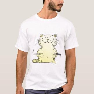 Cute Kitty Golfer T-Shirt