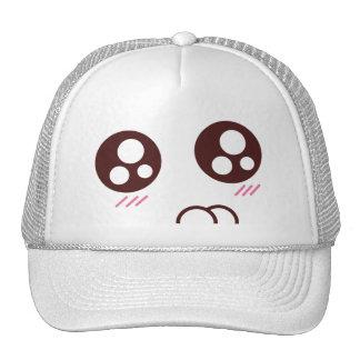 Cute kitty kawaii emoji cap