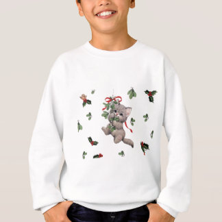 Cute Kitty Kid's Sweatshirt