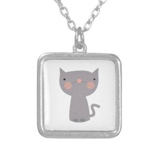 Cute Kitty Custom Necklace