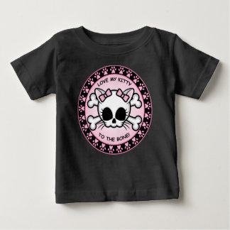 Cute Kitty Skull Shirt