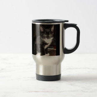 Cute Kitty Stainless Steel Travel Mug
