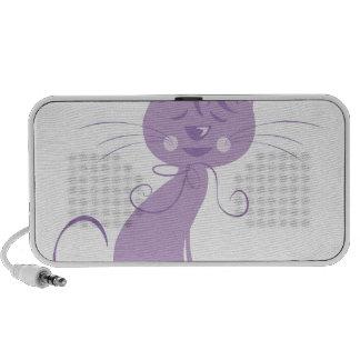 Cute Kitty Travelling Speakers