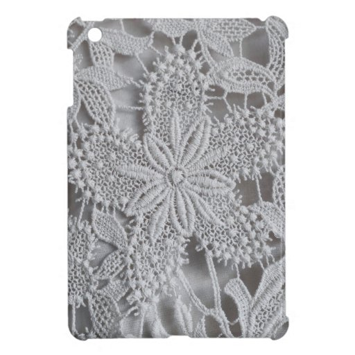 Cute knitted / crocheted doily Star iPad Mini Cases