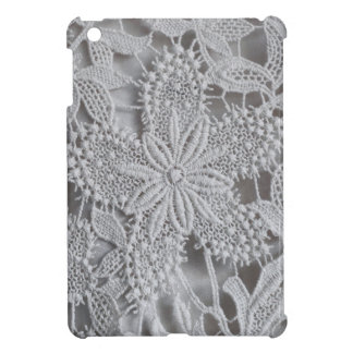 Cute knitted crocheted doily Star iPad Mini Cases