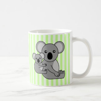 Cute Koala Bear and Baby Coffee Mug