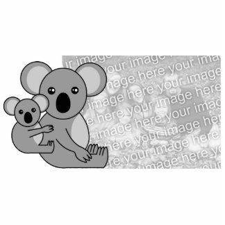 Cute Koala Bear and Baby Custom Photo Sculpture
