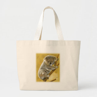 Cute...Koala Bear...Beach Bag! Large Tote Bag
