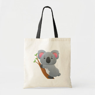 Cute Koala Bear Cartoon Tote Bag