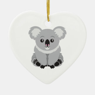 Cute Koala Bear Christmas Ornament