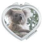 Cute Koala Bear Travel Mirror