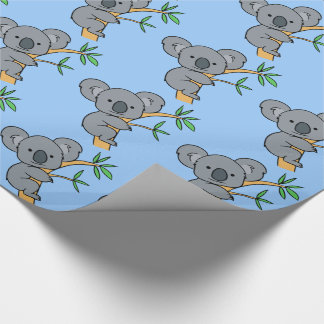 Cute Koala Bear Wrapping Paper