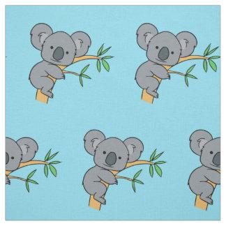 Cute Koala Bear Fabric