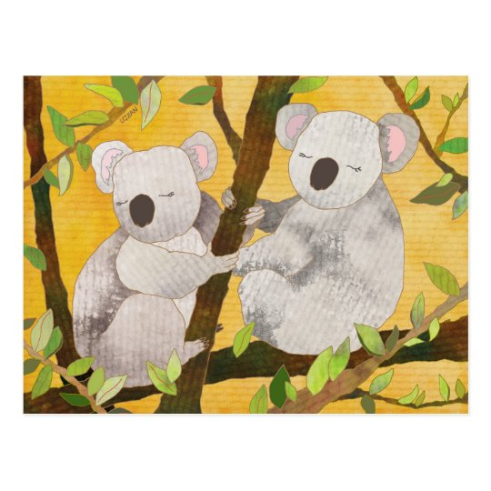 Cute Koala Bears in Australia Postcard