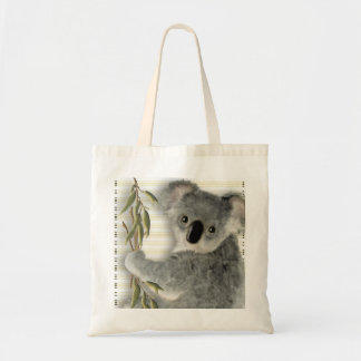 Cute Koala Budget Tote Bag