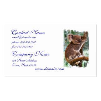 Cute Koala Business Cards