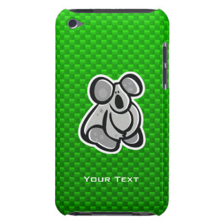 Cute Koala Green iPod Touch Cases