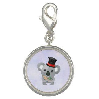Cute Koala in a Black Top Hat