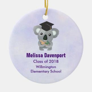 Cute Koala in a Graduation Cap Class of 20xx Christmas Ornament