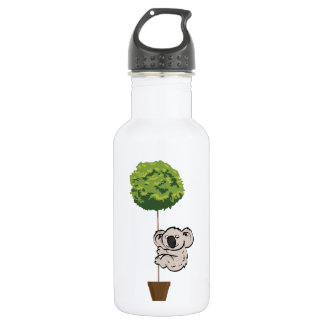 Cute Koala on the Tree 532 Ml Water Bottle